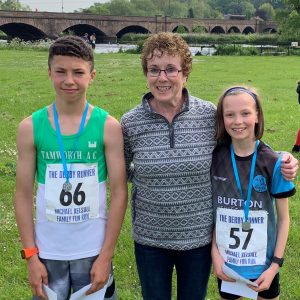 2019 Burton 10 Mile Race and Michael Kelsall Family Fun run Graphic